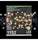 LED CLUSTER LIGHTING - 1152 LIGHTS - WARM WHITE