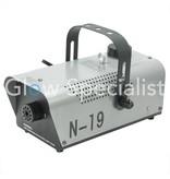 - Eurolite Eurolite N-19 700 watt fog machine - silver