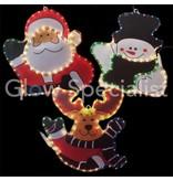 ROPE LIGHT CHRISTMAS FIGURE - 230 V