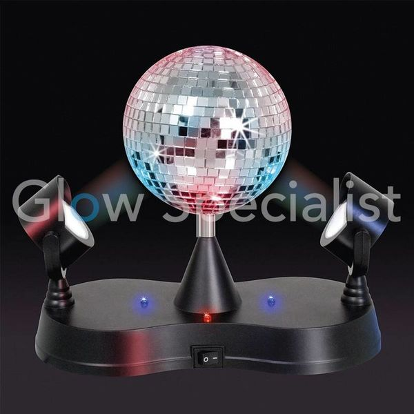 Twin LED projector disco light