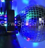 Party Fun Light DUBBEL DRAAIENDE SPIEGELBOLLEN
