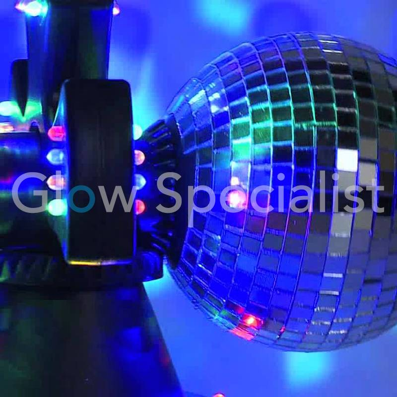 Party Fun Light Double Rotating Mirror