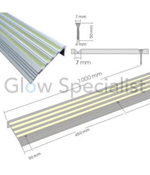 Glow in the Dark Stair profile - per piece