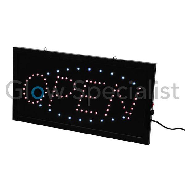 LED SIGN EUROLITE - OPEN - KLEIN