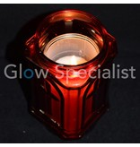 TOMB CANDLE / REMINDER LIGHT - RED - 20 CM