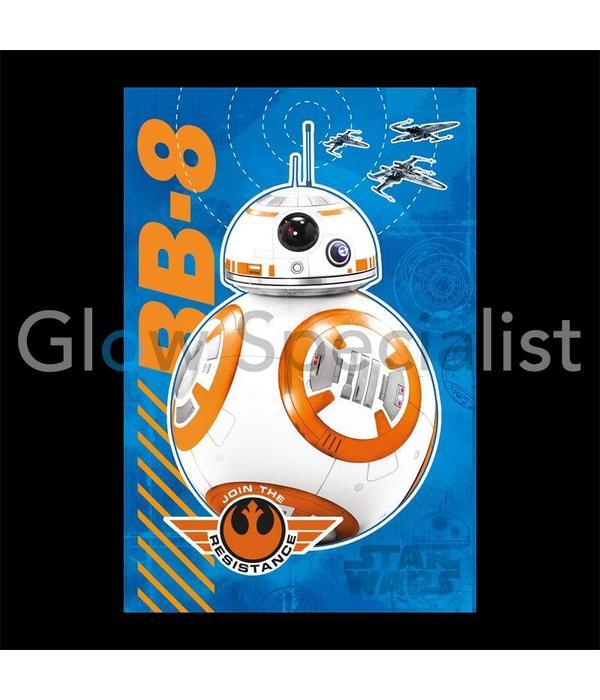 Trefl GLOW IN THE DARK Puzzle Star Wars BB-8, 60 pieces