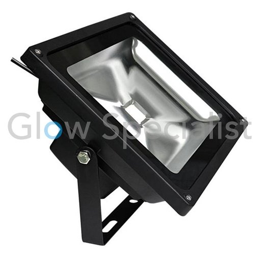 - Glow Specialist LED UV - BLACKLIGHT - 395nm - 40 WATT COB FLOOD LIGHT