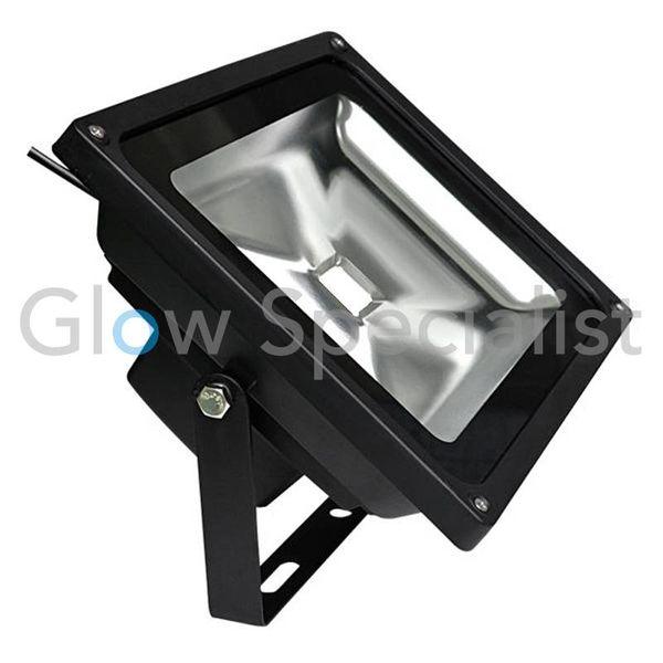 LED UV - BLACKLIGHT - 395NM - 40 WATT COB FLOODLIGHT - High Quality