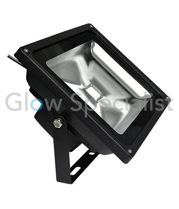 - Glow Specialist LED UV - BLACKLIGHT - 395nm - 40 WATT COB FLOOD LIGHT - High Quality