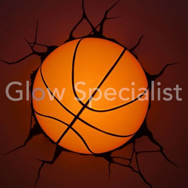 3D LED LAMP BASKETBALL