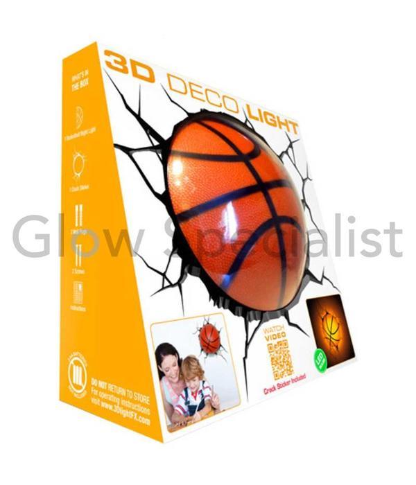 3D LED LAMP BASKETBALL