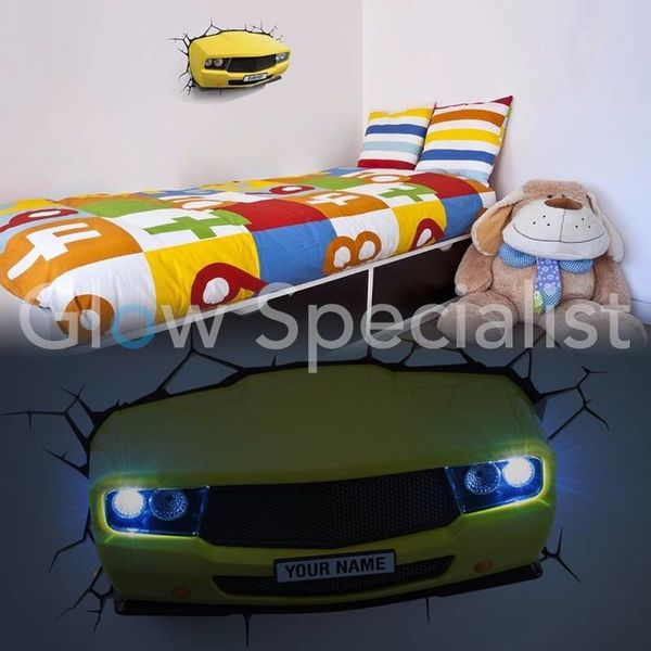 3D MUSCLE CAR LAMP