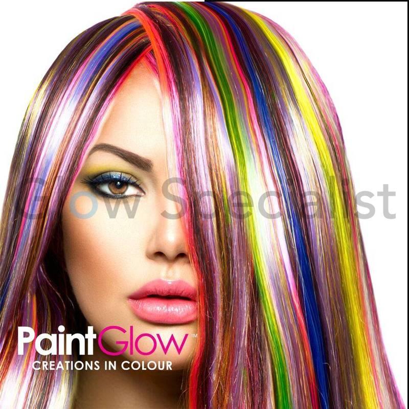 Paintglow Uv Hair Color Streaks Glow Specialist