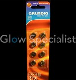 Grundig Cell batteries - AG13 / 357 / LR44 - 8 PIECES - GRUNDIG