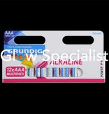 Grundig AAA Batteries - Multipack 12 pieces - Grundig
