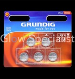 Grundig KNOOPCEL BATTERIJEN - CR2032 - 5 STUKS - GRUNDIG