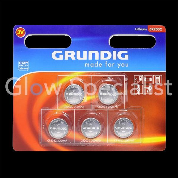 Cell batteries - 5 PIECES - GRUNDIG