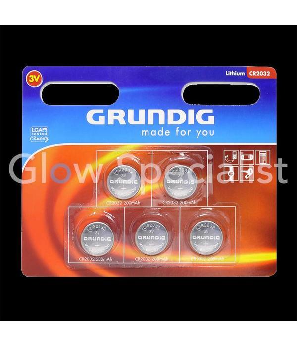 Grundig Cell batteries - 5 PIECES - GRUNDIG