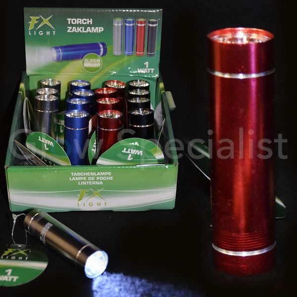 Flashlight SUPER BRIGHT - 1 WATT
