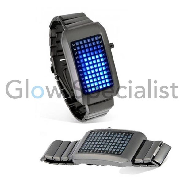 LED HORLOGE BINARY