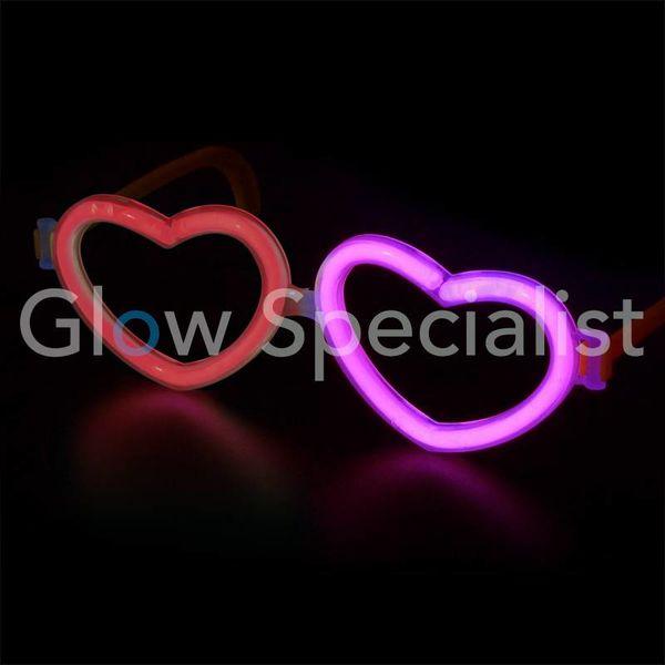 GLOW EYEGLASSES FRAME - HEART