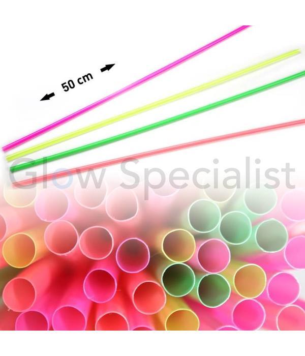 NEON RIETJES - 50 CM (L) - 100 STUKS