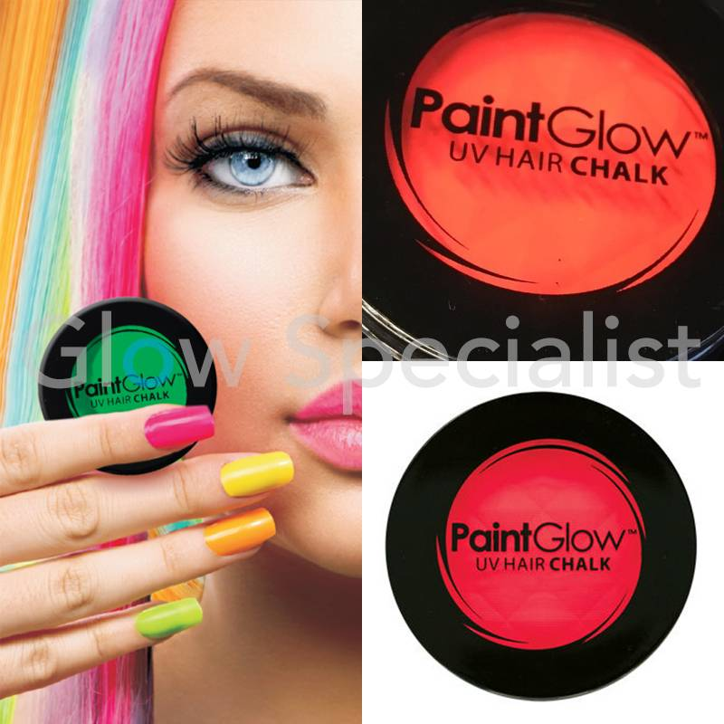 paintglow paintglow neon hair chalk