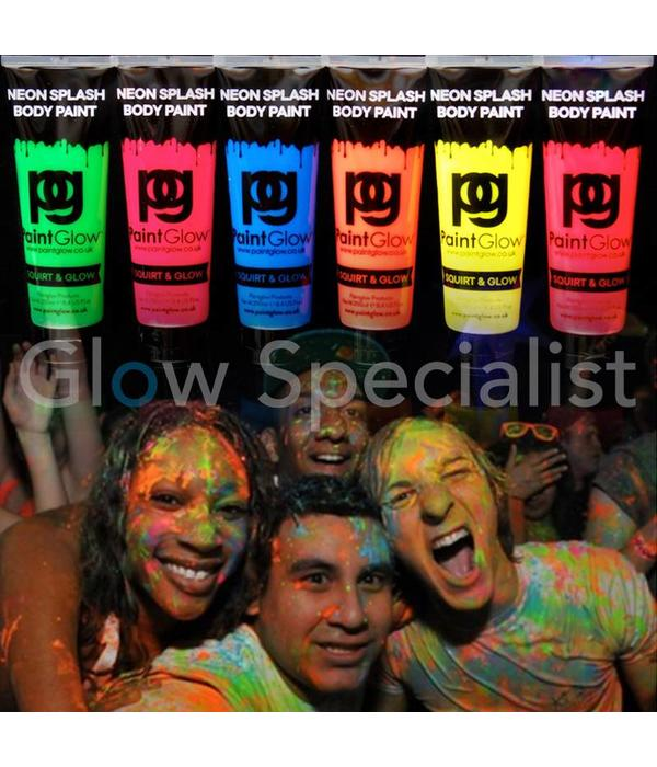 - PaintGlow PAINTGLOW NEON SPLASH BODY PAINT - 250 ML