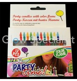 Candles with colored flames - Magic flames