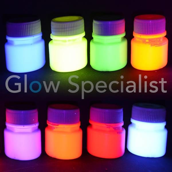 UV / BLACKLIGHT VERF - 60 ML - PER STUK