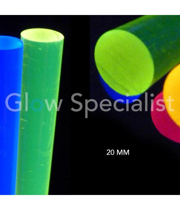 UV / BLACKLIGHT ACRYLSTAAF - 20 MM