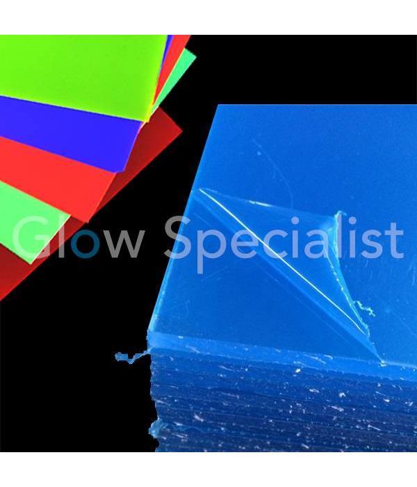 UV / BLACKLIGHT NEON ACRYLPLAAT - 51 x 34 cm