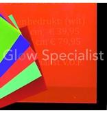 UV reactive Neon Acrylic sheet - 67 x 50 cm
