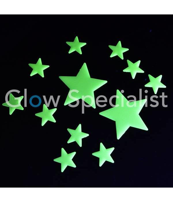 GLOW IN THE DARK FIGURES SET - 6 PACK ASSORTI