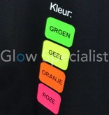 UV / BLACKLIGHT T-SHIRT PERSONALISED WITH NAME AND NUMBER