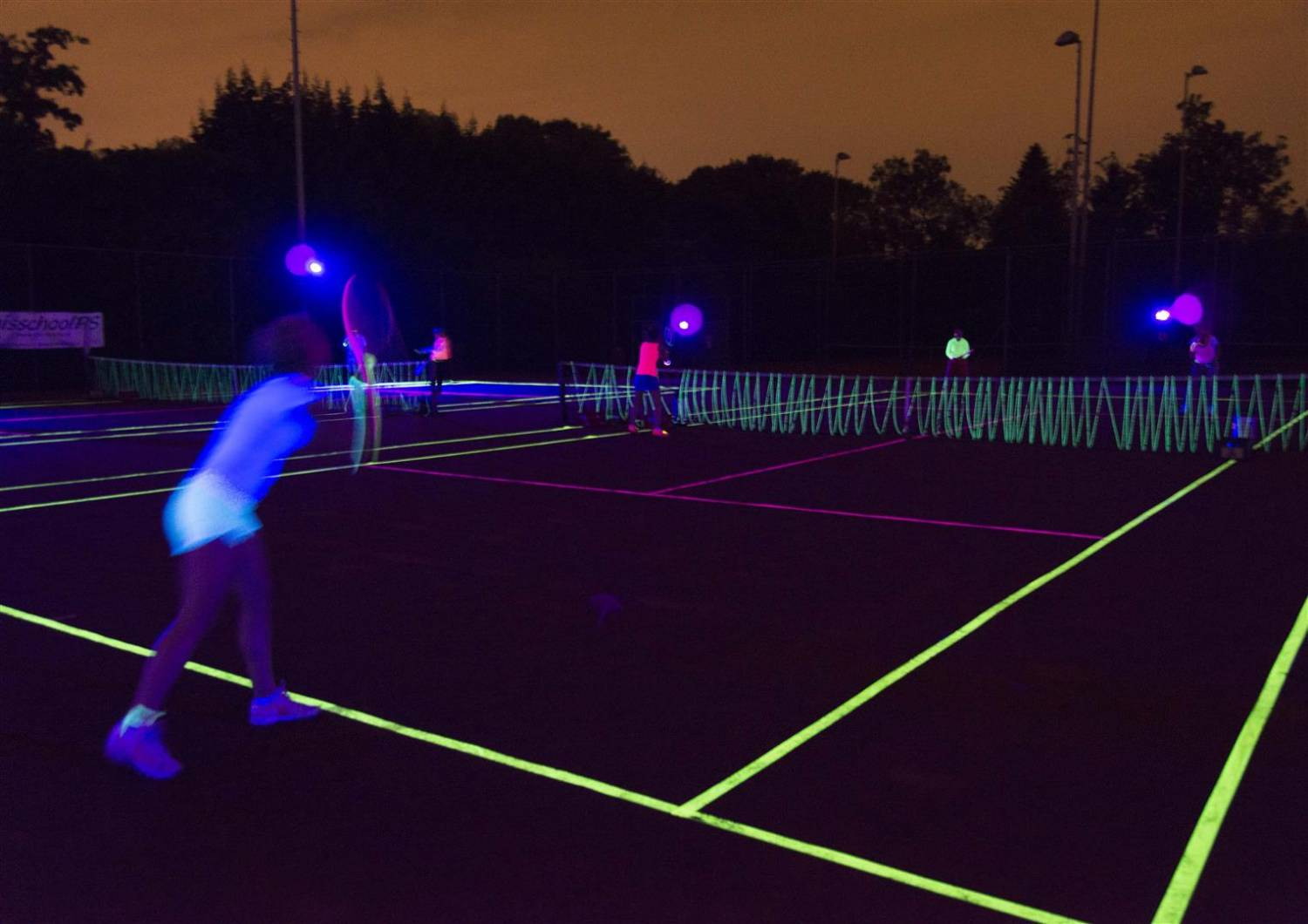 Glow In The Dark Tennis Glow Specialist