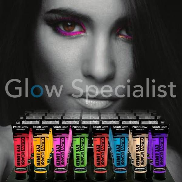 PAINTGLOW GLOW IN THE DARK EYE MASCARA