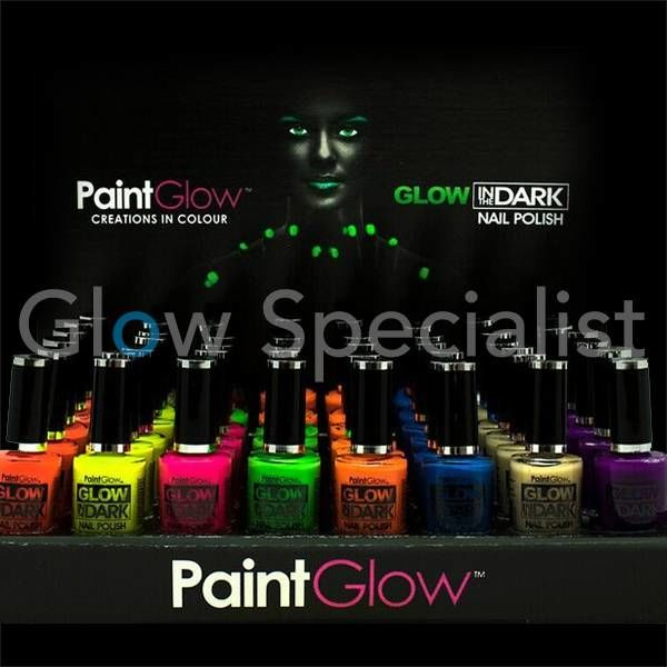 PAINTGLOW GLOW IN THE DARK NAIL POLISH