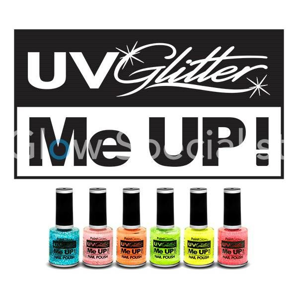 PAINTGLOW UV GLITTER ME UP NAILPOLISH