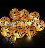 HALLOWEEN LED STRINGLIGHT WITH 10 Lanterns - BATS