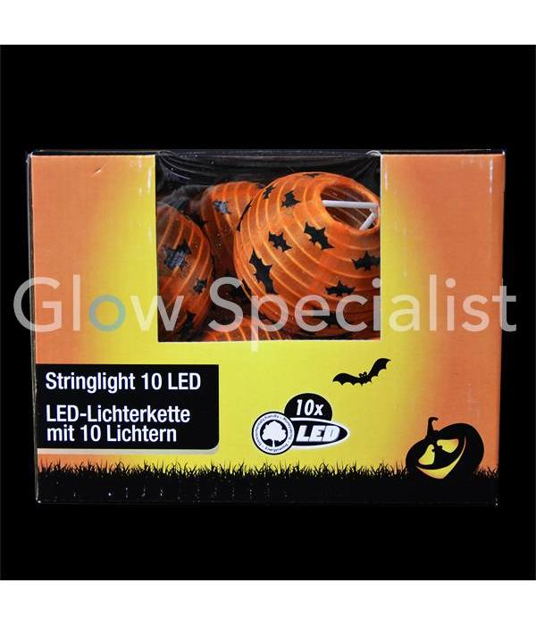 HALLOWEEN LED STRINGLIGHT WITH 10 Lanterns - BATS
