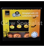 HALLOWEEN LED STRINGLIGHT WITH 10 LIGHTS - PUMPKIN