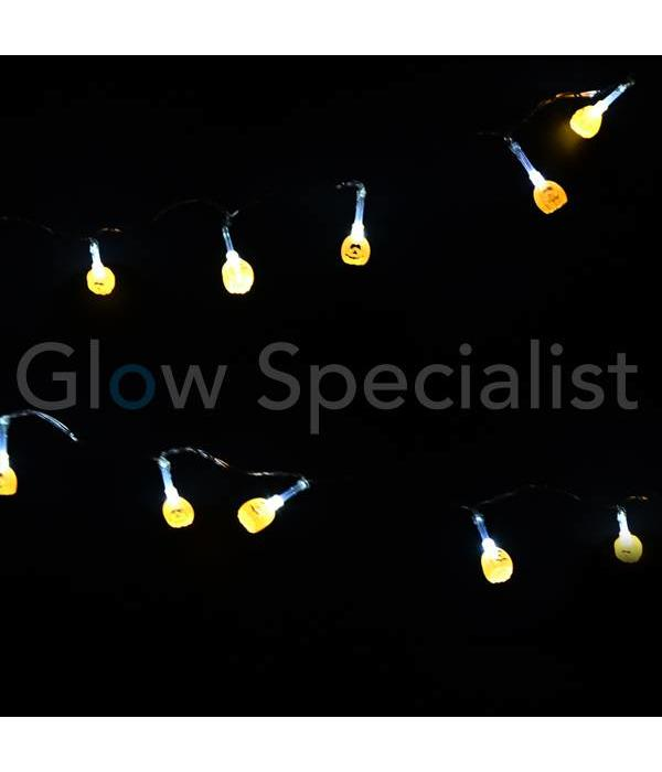HALLOWEEN LED STRINGLIGHT ​​WITH 10 LIGHTS - SMALL PUMPKIN