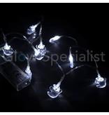 HALLOWEEN LED LICHTKETTING MET 10 LAMPJES - GEEST