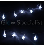 HALLOWEEN LED STRINGLIGHT WITH 10 LIGHTS - GHOST
