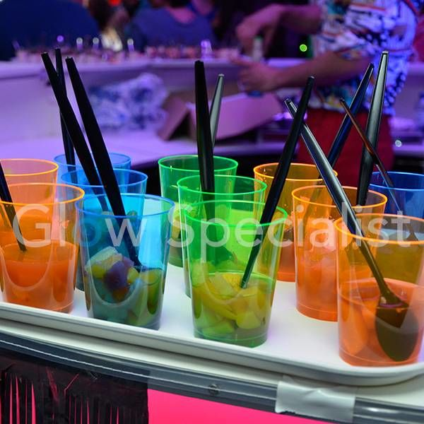 NEON TALL TUMBLER - ASSORTED - 50 PIECES