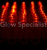 - Glow Specialist FINGER LIGHTS - TRAY OF 50 PIECES - RED