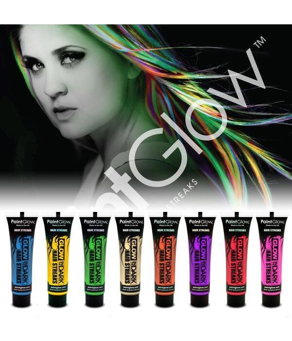 - PaintGlow PAINTGLOW GLOW IN THE DARK HAIR STREAKS