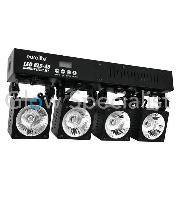 - Eurolite EUROLITE KLS-40 compact light set