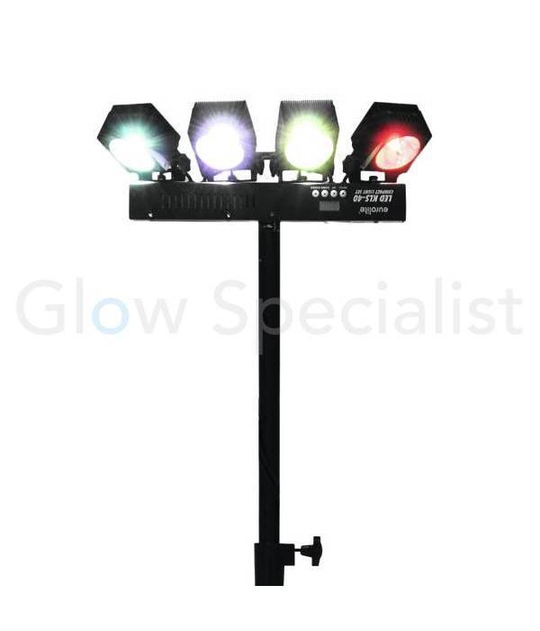 - Eurolite EUROLITE KLS 40 - compacte licht set met COB 30 watt LED's